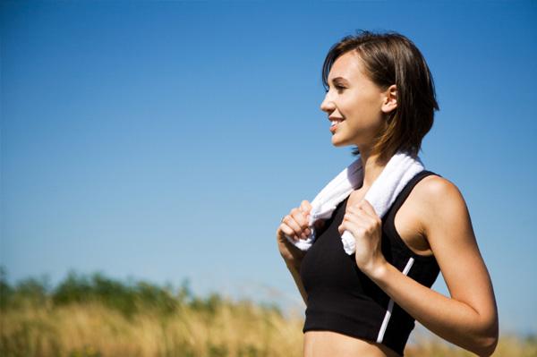 Hacer ejercicio y sentirse feliz