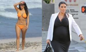 Kim Kardashian antes-después peso