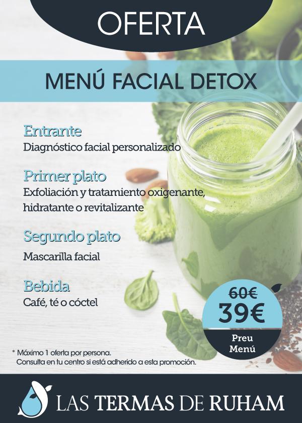 Menú Facial Detox