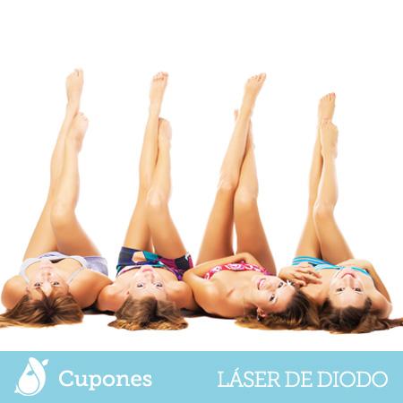 Cupones Depilación Láser de Diodo