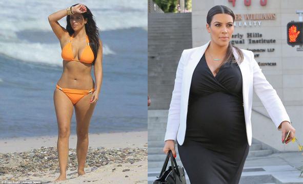 antes y despues adelgazar famosos en el embarazo