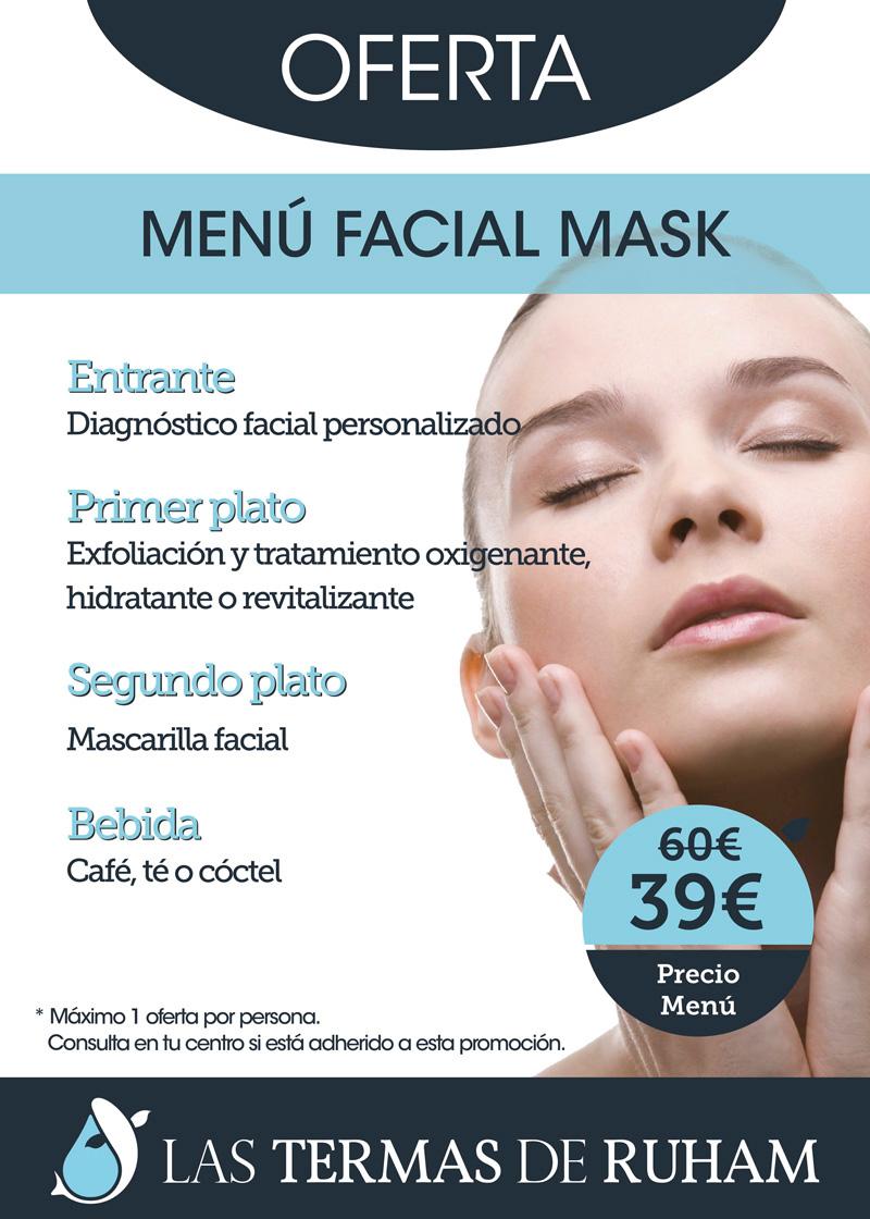 Menú Facial mask