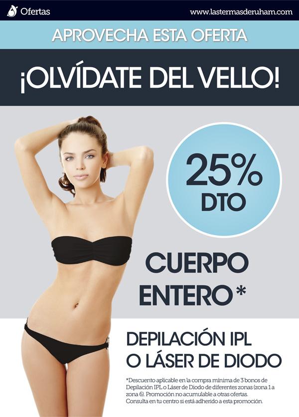 Oferta depilación ipl