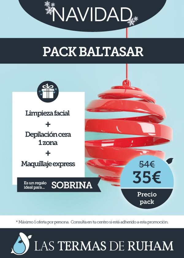 Oferta Navidad Pack Baltasar