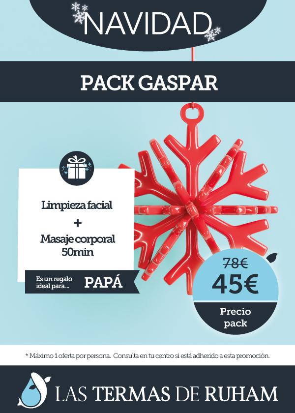 Oferta Navidad Pack Gaspar
