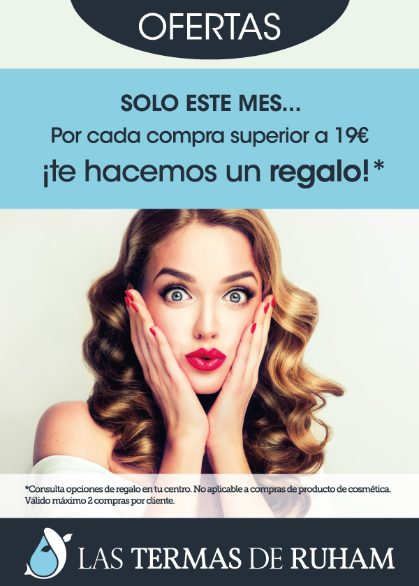Poster oferta tratamiento belleza sorpresa